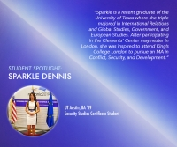 Student Spotlight: Sparkle Dennis interns at the U.S. Consulate in Bucharest