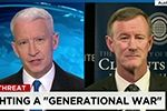 Clements Center featured in <br>Chancellor McRaven&amp;#039;s interview with CNN&amp;#039;s Anderson Cooper